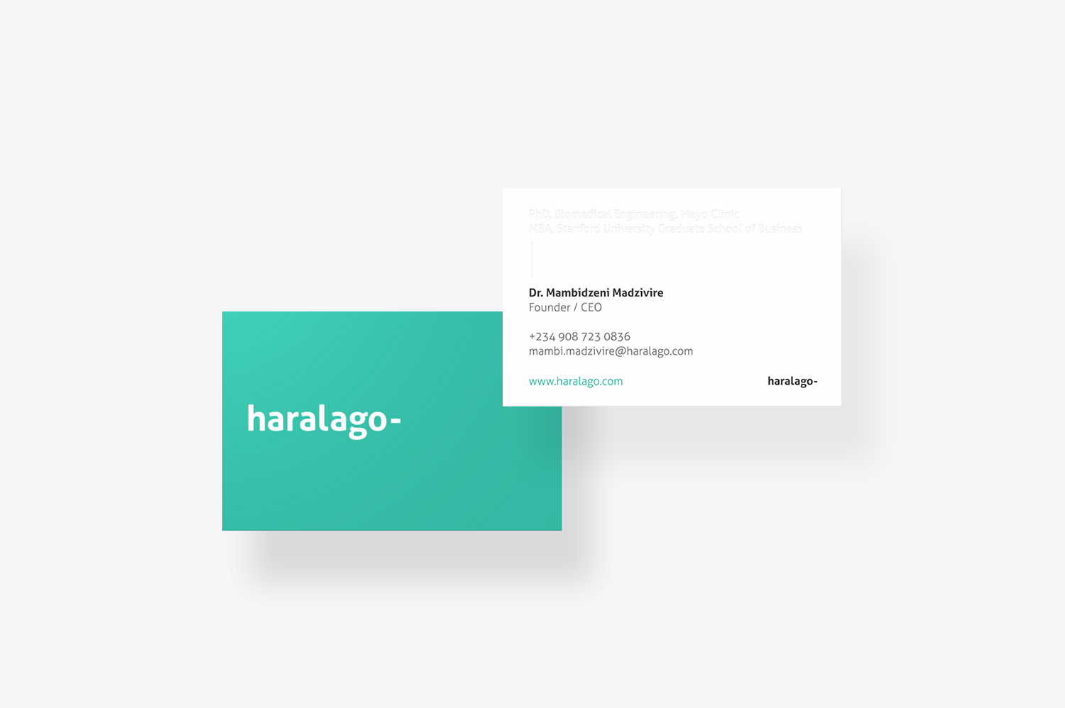 Haralago Business Card