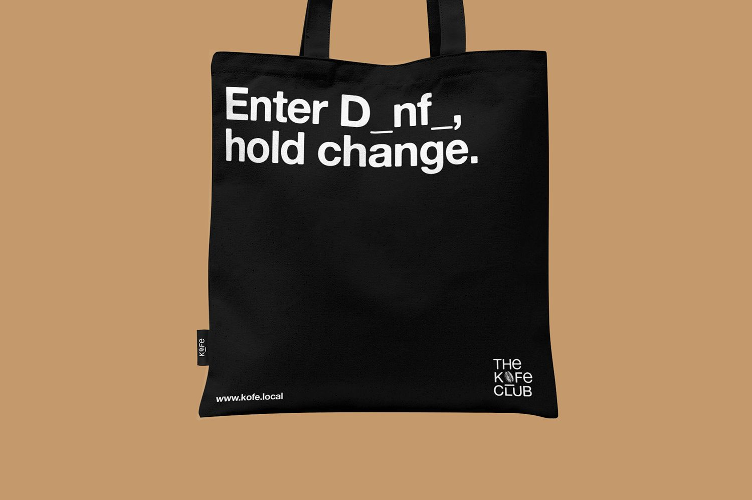 Kofe Club Tote Club - Enter Danfo, hold change