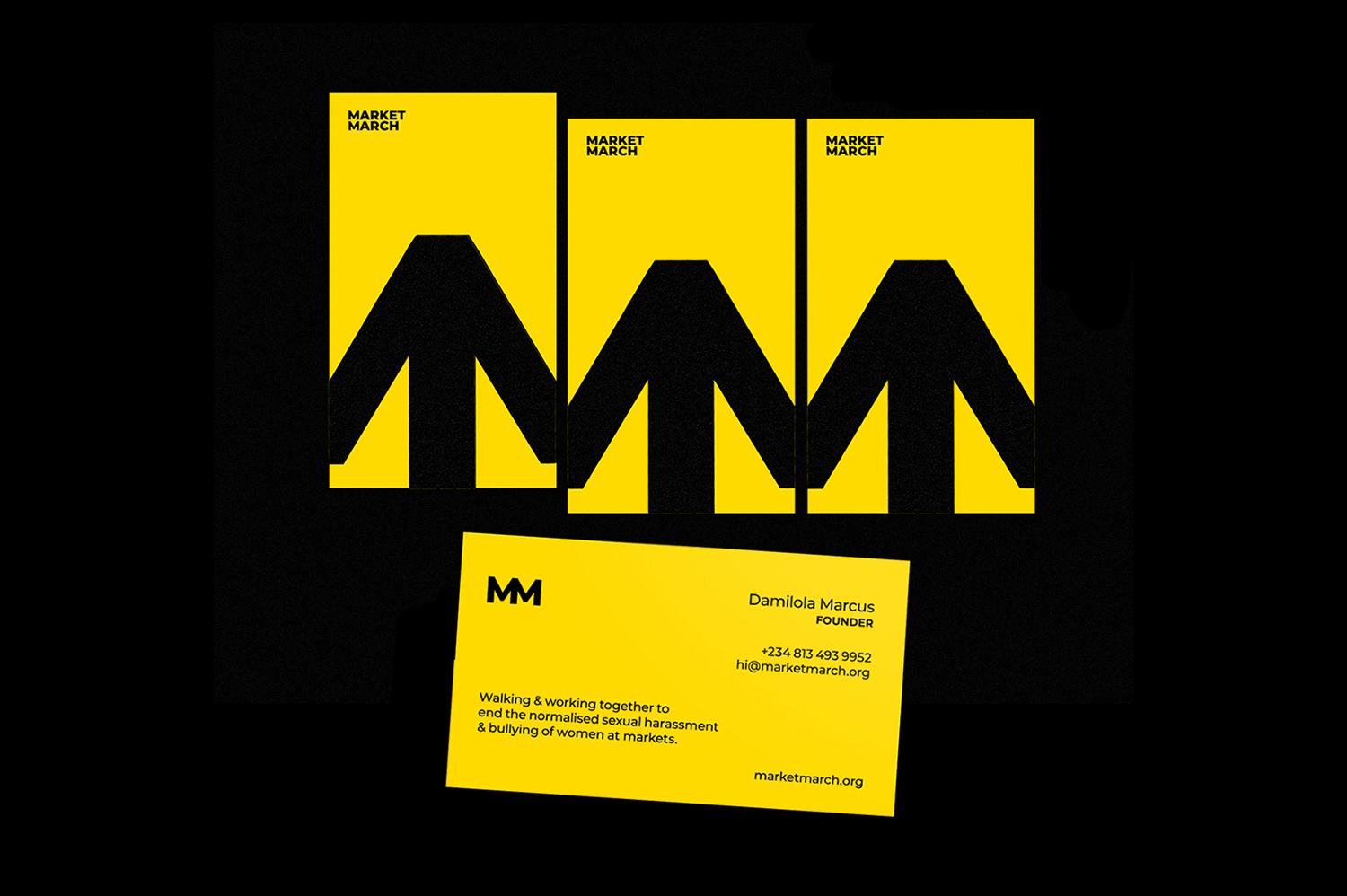 Market March Business Cards